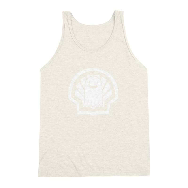 Ghost In A Shell Men's Triblend Tank by Requiem's Thread Shop