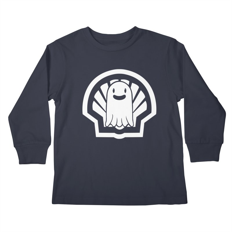 Ghost In A Shell Kids Longsleeve T-Shirt by Requiem's Thread Shop