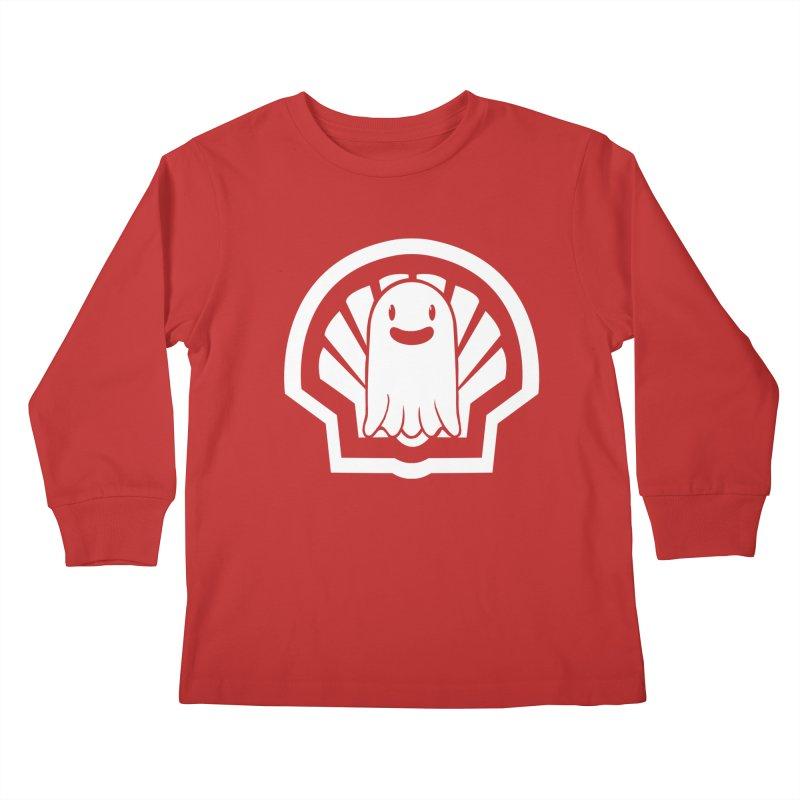 Ghost In A Shell Kids Longsleeve T-Shirt by Requiem's Thread Shop