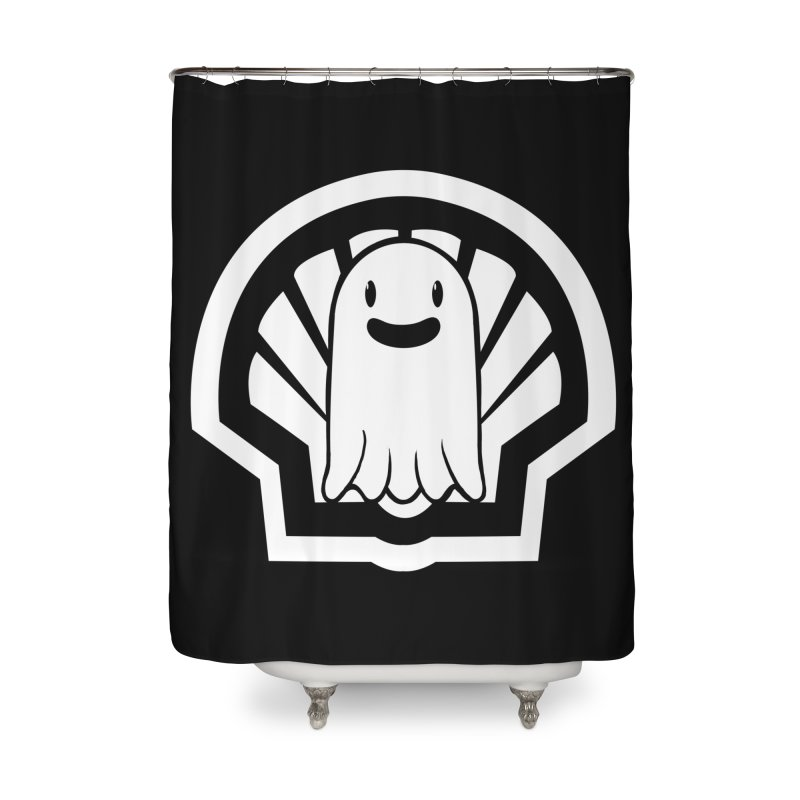 Ghost In A Shell Home Shower Curtain by Requiem's Thread Shop