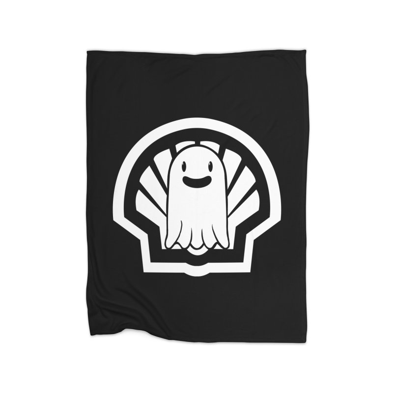 Ghost In A Shell Home Blanket by Requiem's Thread Shop