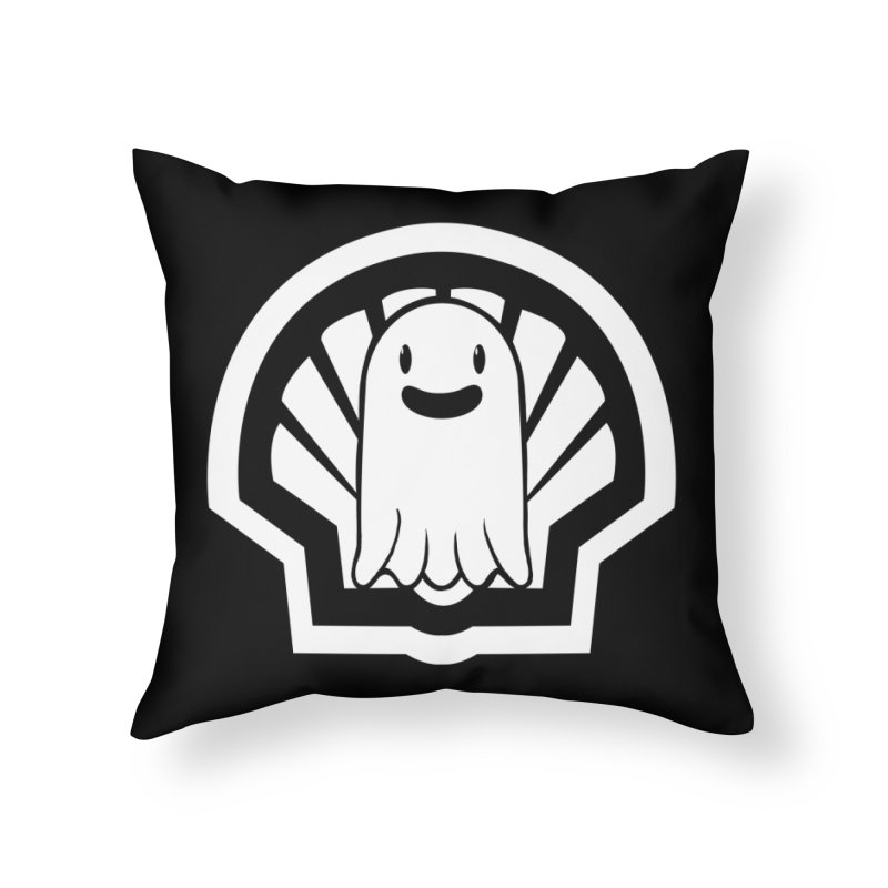 Ghost In A Shell Home Throw Pillow by Requiem's Thread Shop