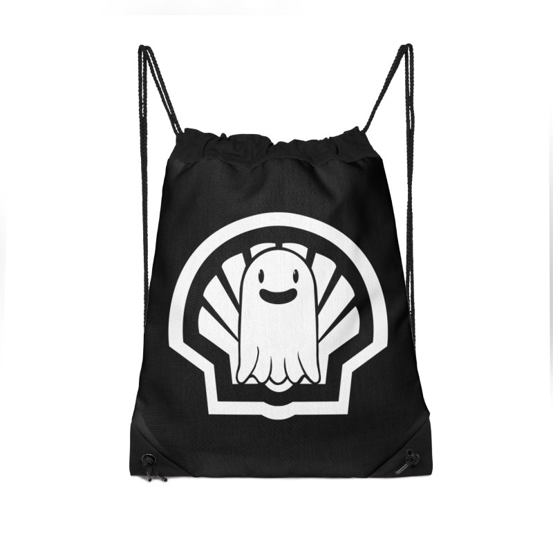 Ghost In A Shell Accessories Drawstring Bag Bag by Requiem's Thread Shop