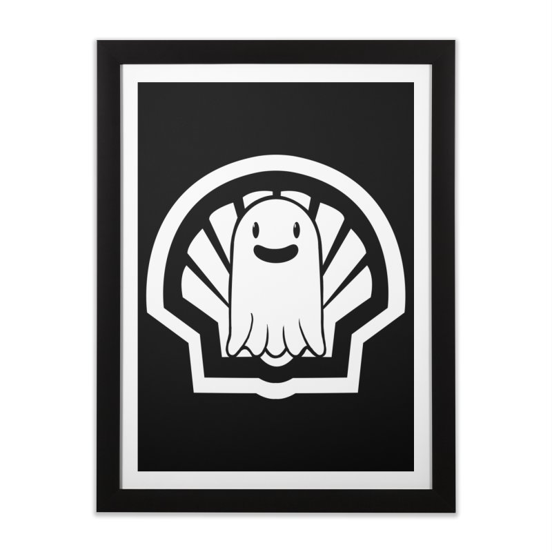 Ghost In A Shell Home Framed Fine Art Print by Requiem's Thread Shop