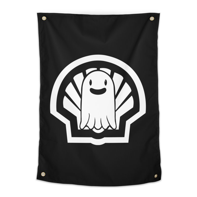 Ghost In A Shell Home Tapestry by Requiem's Thread Shop