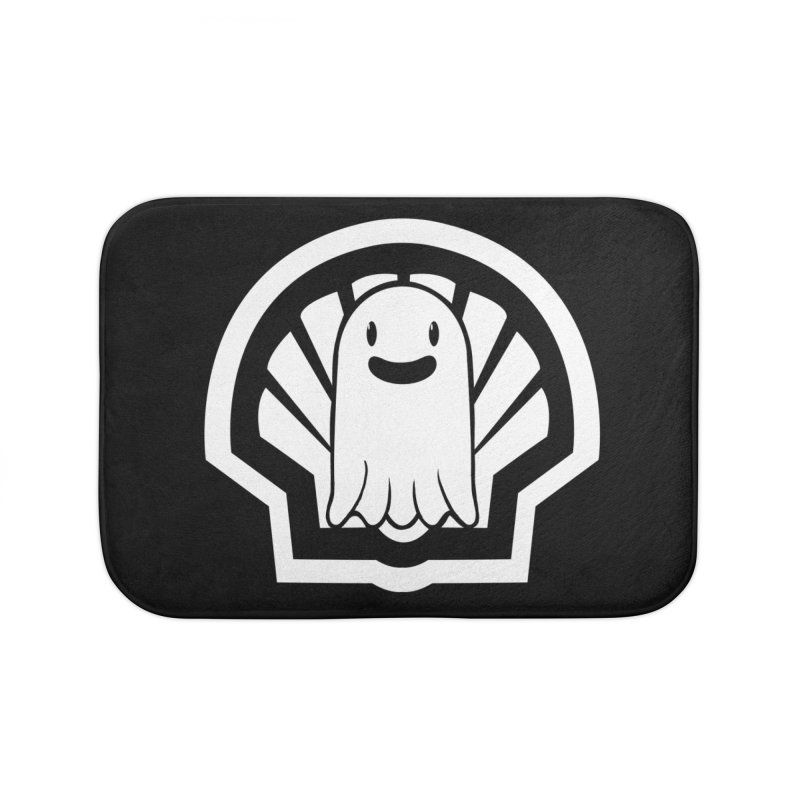 Ghost In A Shell Home Bath Mat by Requiem's Thread Shop