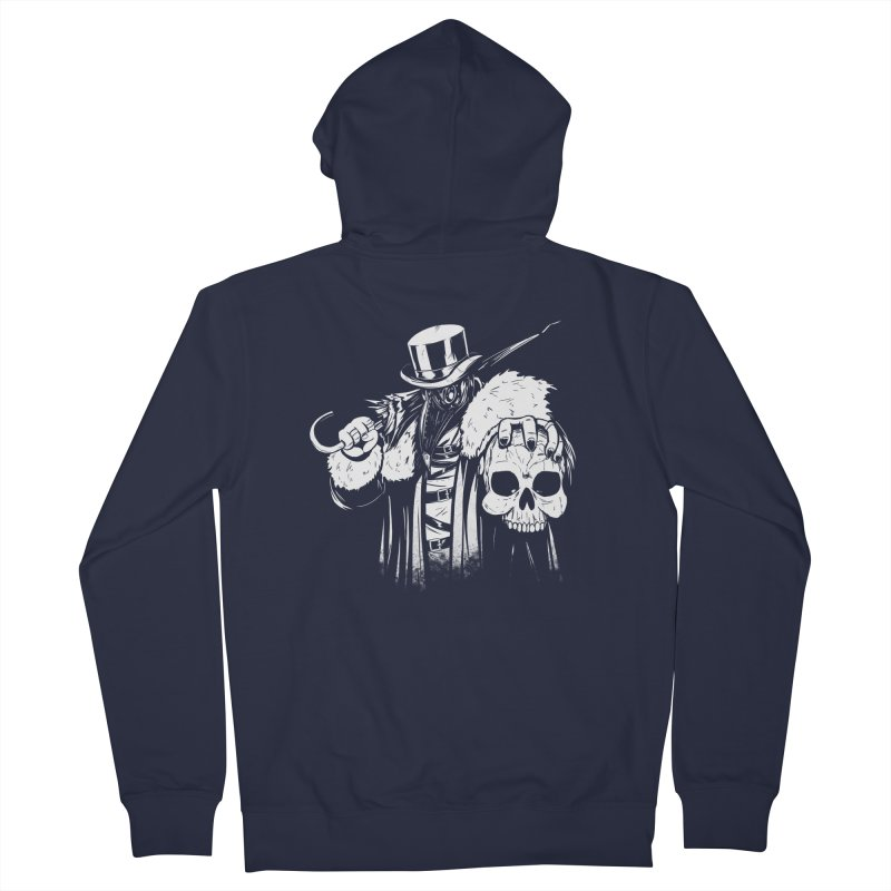 No More Heroes  Women's French Terry Zip-Up Hoody by Requiem's Thread Shop