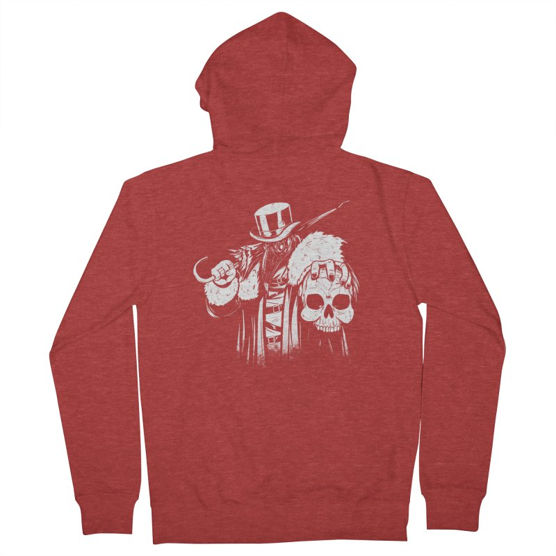 No More Heroes  Men's French Terry Zip-Up Hoody by Requiem's Thread Shop