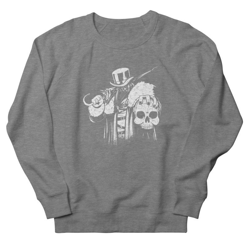 No More Heroes  Women's French Terry Sweatshirt by Requiem's Thread Shop