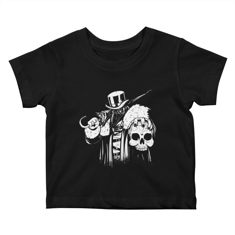 No More Heroes  Kids Baby T-Shirt by Requiem's Thread Shop