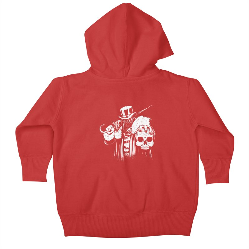 No More Heroes  Kids Baby Zip-Up Hoody by Requiem's Thread Shop