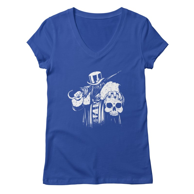 No More Heroes  Women's Regular V-Neck by Requiem's Thread Shop