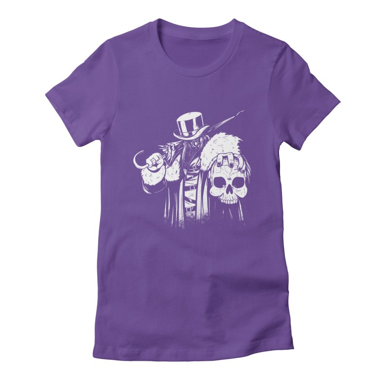No More Heroes  Women's Fitted T-Shirt by Requiem's Thread Shop