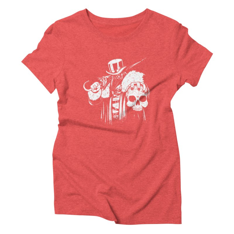 No More Heroes  Women's Triblend T-Shirt by Requiem's Thread Shop
