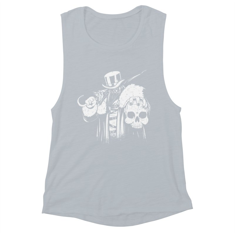 No More Heroes  Women's Muscle Tank by Requiem's Thread Shop