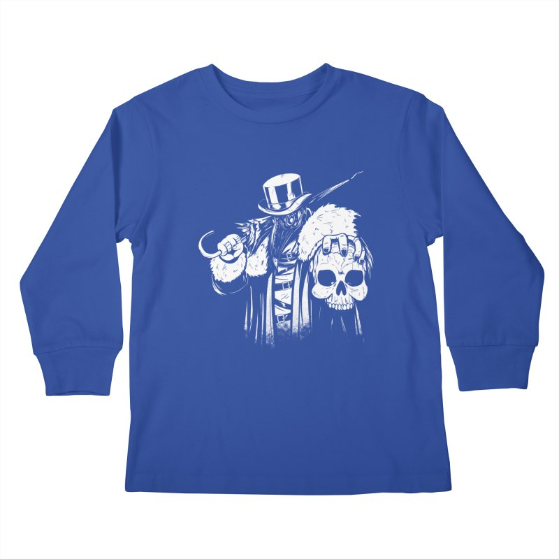 No More Heroes  Kids Longsleeve T-Shirt by Requiem's Thread Shop