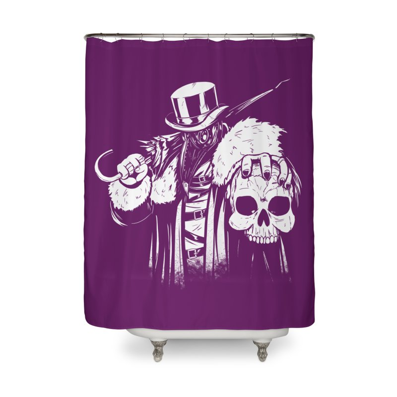 No More Heroes  Home Shower Curtain by Requiem's Thread Shop