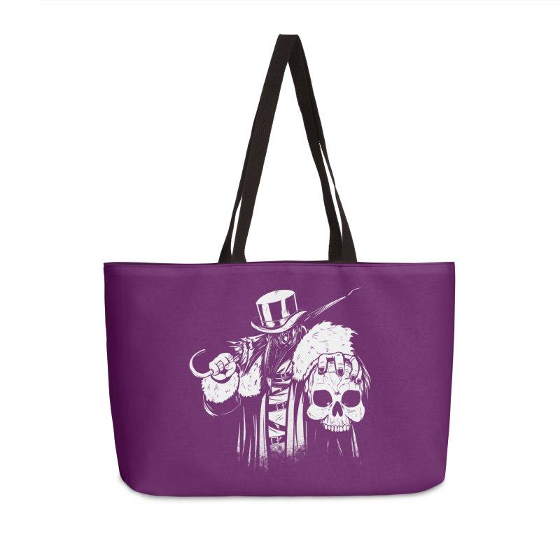 No More Heroes  Accessories Weekender Bag Bag by Requiem's Thread Shop