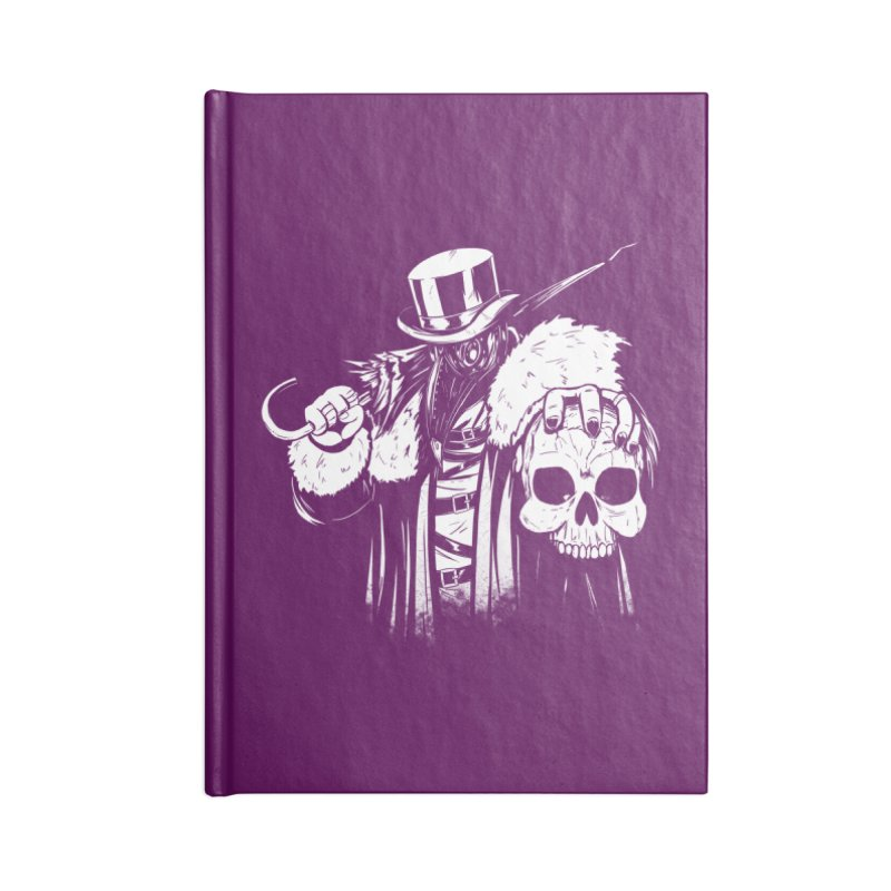 No More Heroes  Accessories Lined Journal Notebook by Requiem's Thread Shop