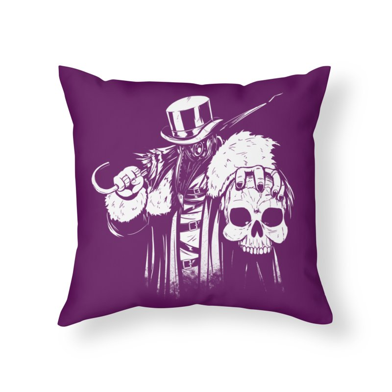 No More Heroes  Home Throw Pillow by Requiem's Thread Shop