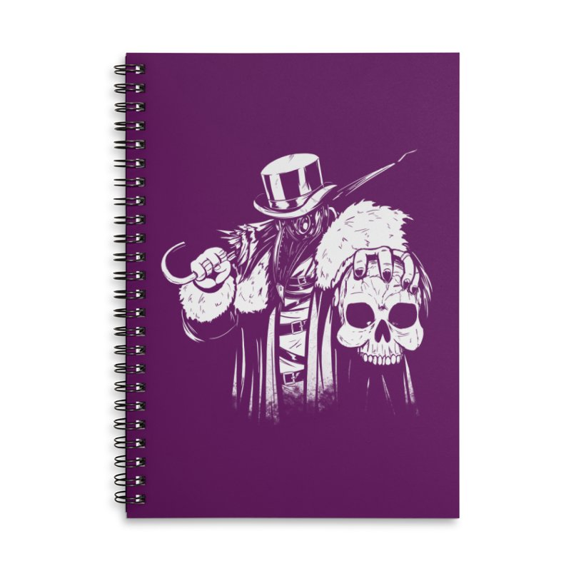 No More Heroes  Accessories Lined Spiral Notebook by Requiem's Thread Shop