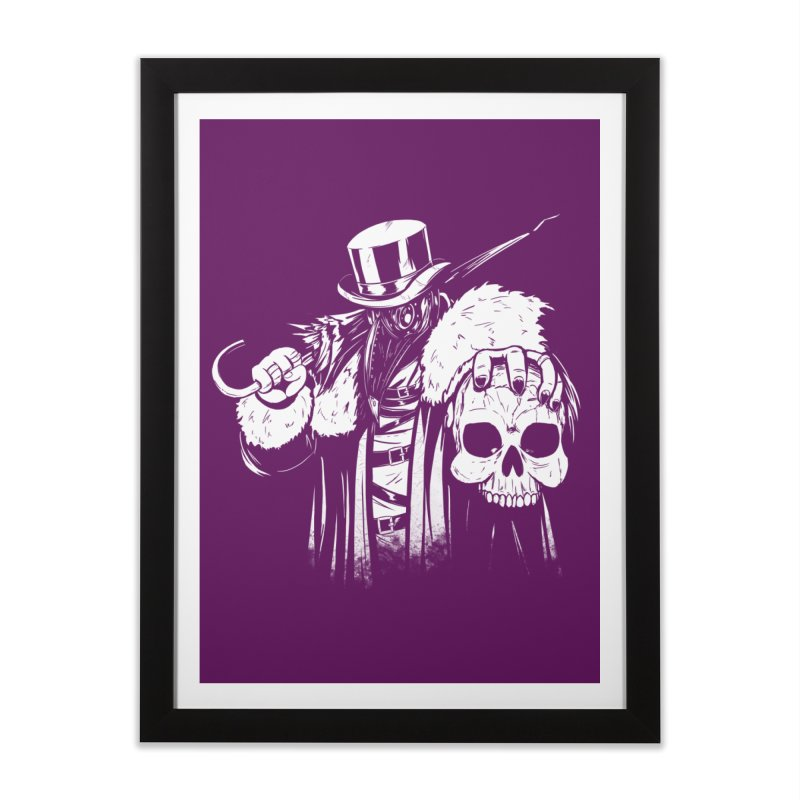 No More Heroes  Home Framed Fine Art Print by Requiem's Thread Shop