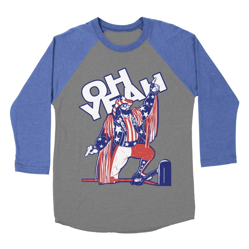 The Cream of the Crop Men's Baseball Triblend T-Shirt by Requiem's Thread Shop