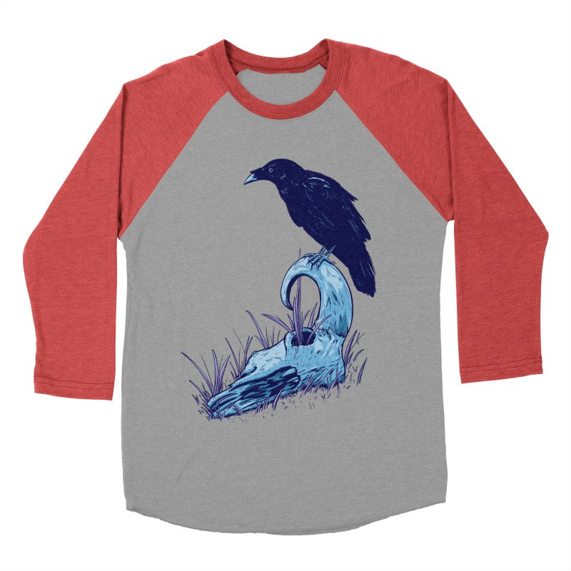 Nightmares Men's Baseball Triblend T-Shirt by Requiem's Thread Shop