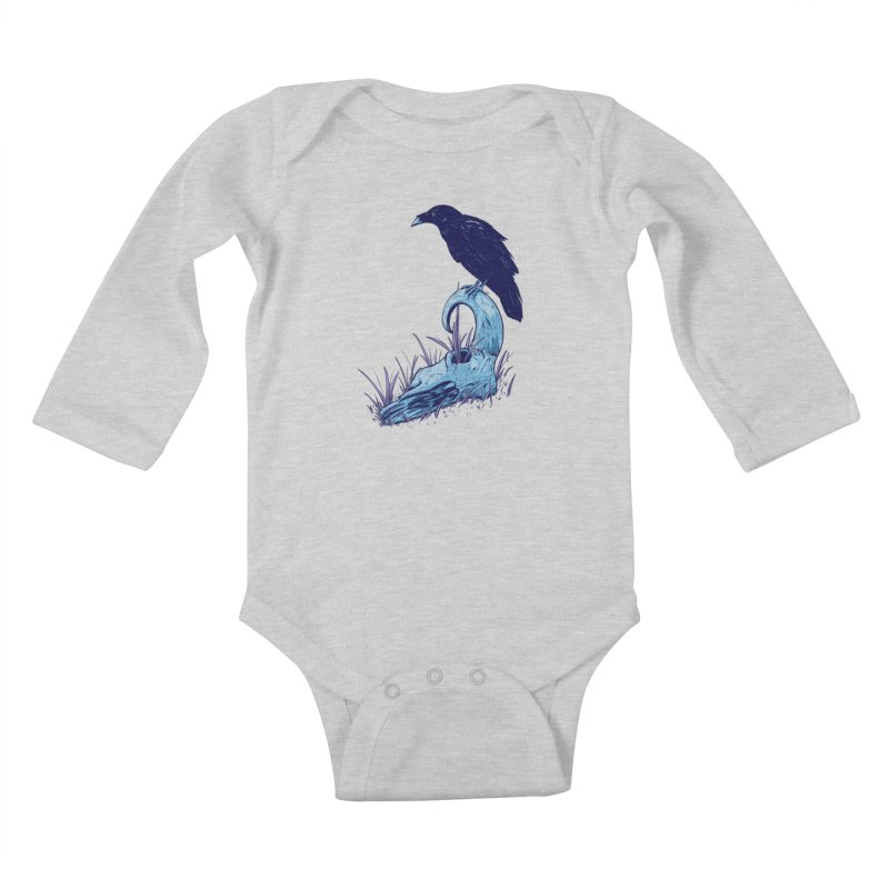 Nightmares Kids Baby Longsleeve Bodysuit by Requiem's Thread Shop