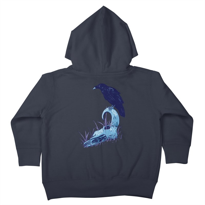 Nightmares Kids Toddler Zip-Up Hoody by Requiem's Thread Shop