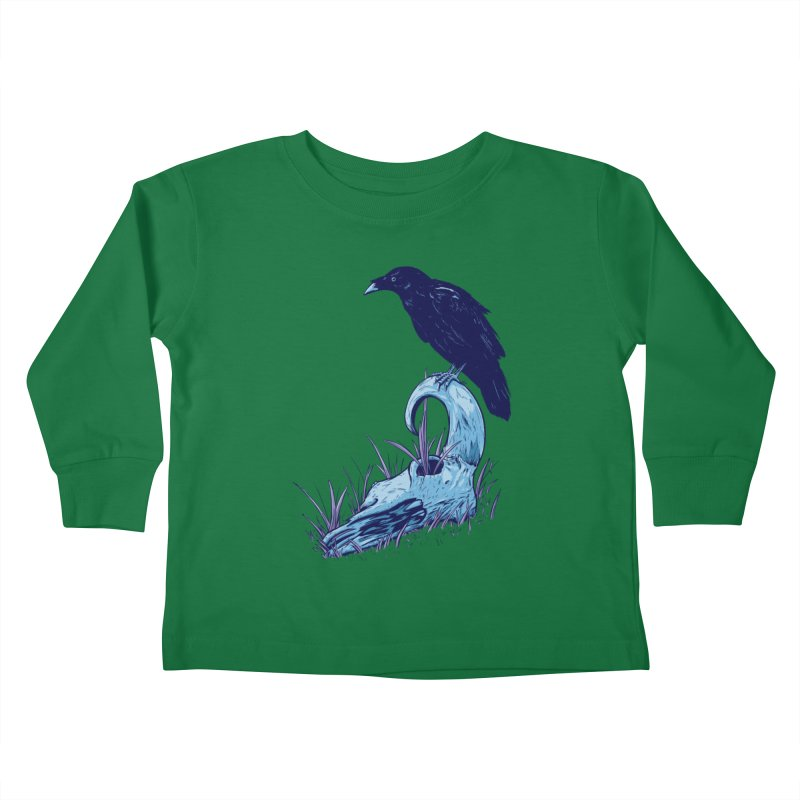 Nightmares Kids Toddler Longsleeve T-Shirt by Requiem's Thread Shop