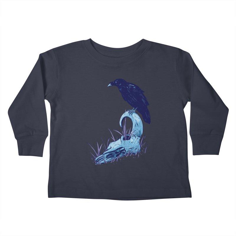 Nightmares Kids Toddler Longsleeve T-Shirt by Requiem's Thread Shop