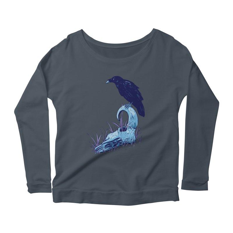 Nightmares Women's Scoop Neck Longsleeve T-Shirt by Requiem's Thread Shop