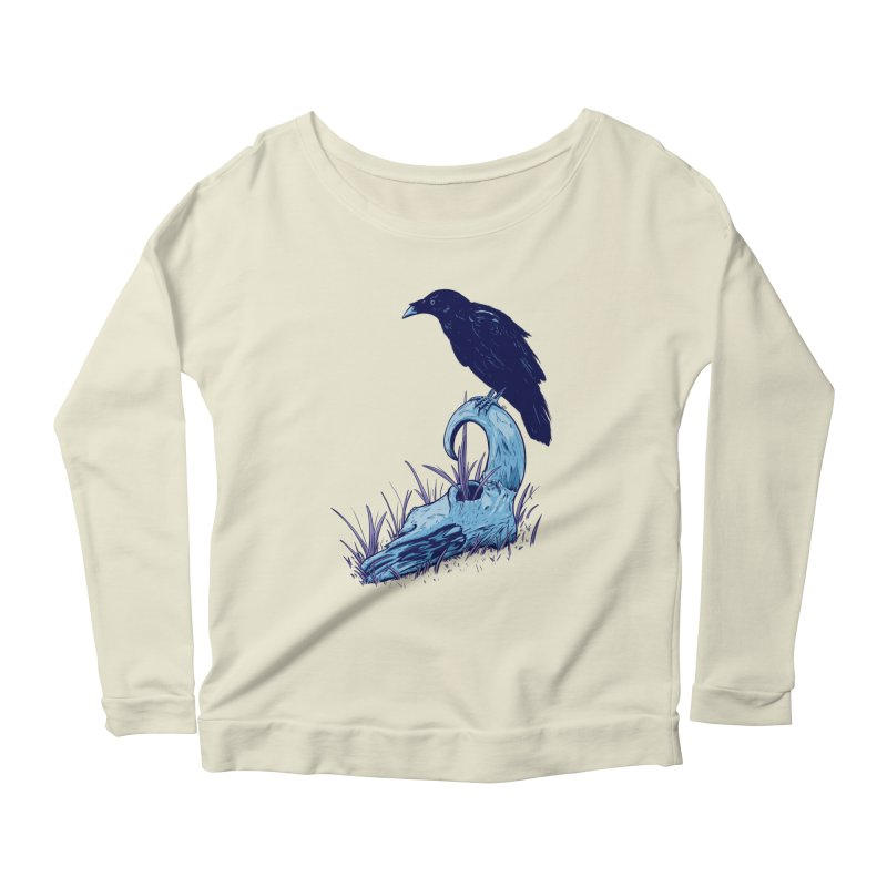 Nightmares Women's Scoop Neck Longsleeve T-Shirt by Requiem's Thread Shop