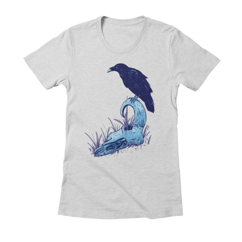 Nightmares Women's Fitted T-Shirt by Requiem's Thread Shop