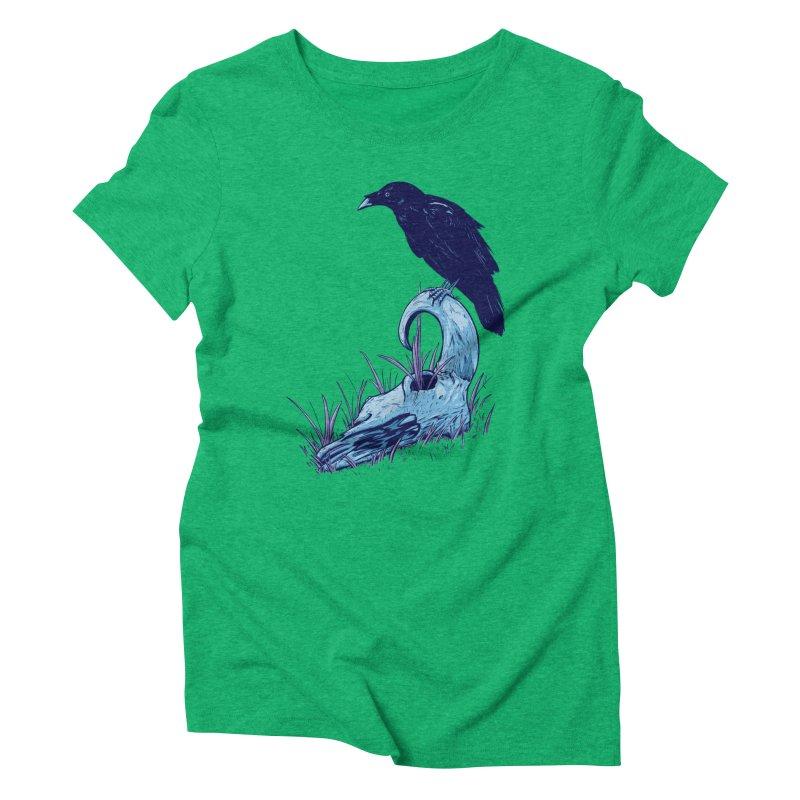 Nightmares Women's Triblend T-Shirt by Requiem's Thread Shop