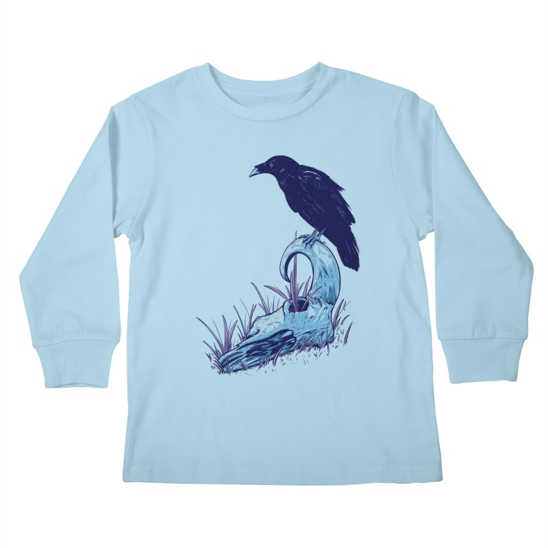 Nightmares Kids Longsleeve T-Shirt by Requiem's Thread Shop