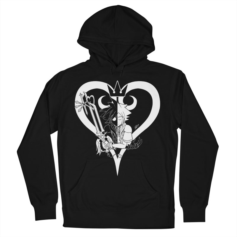 Heartless Women's French Terry Pullover Hoody by Requiem's Thread Shop