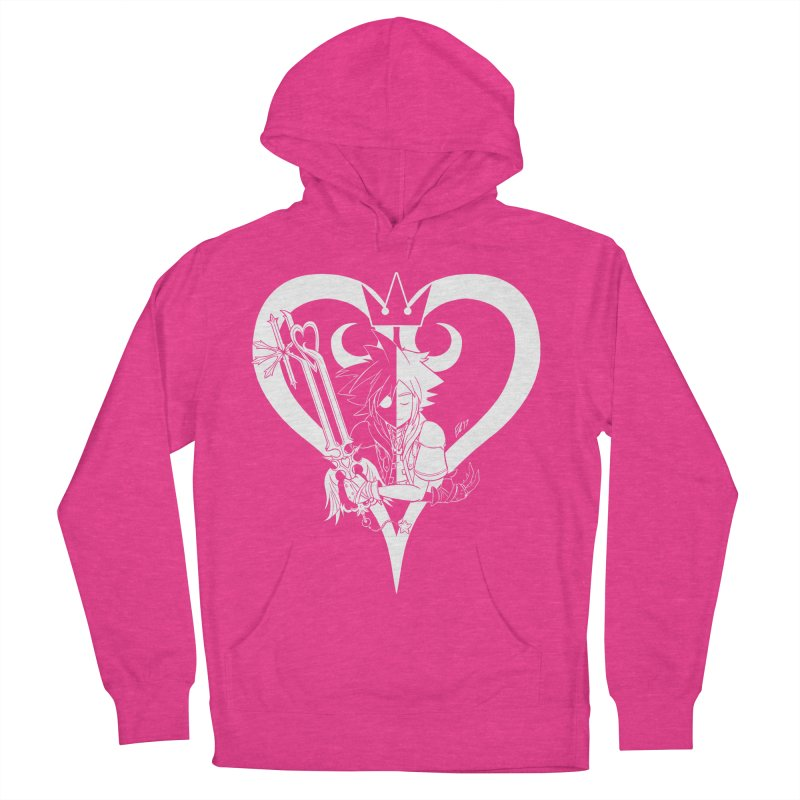 Heartless Men's French Terry Pullover Hoody by Requiem's Thread Shop