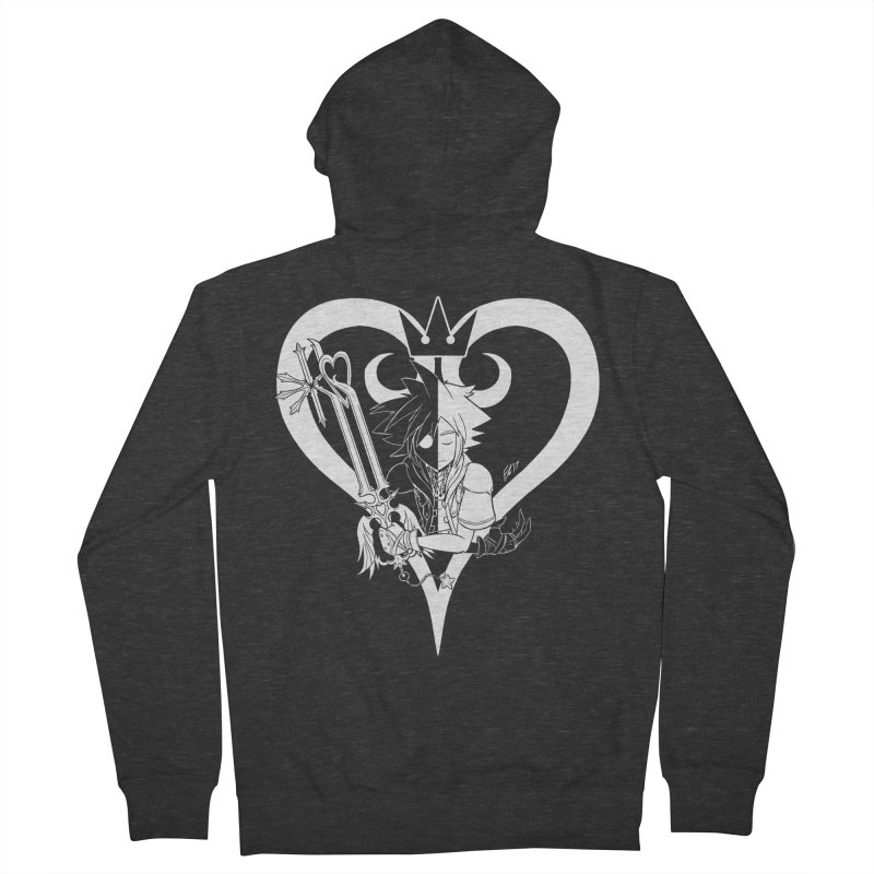 Heartless Women's French Terry Zip-Up Hoody by Requiem's Thread Shop
