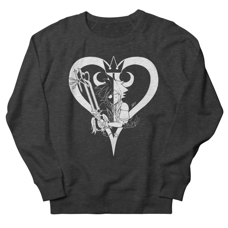 Heartless Men's French Terry Sweatshirt by Requiem's Thread Shop