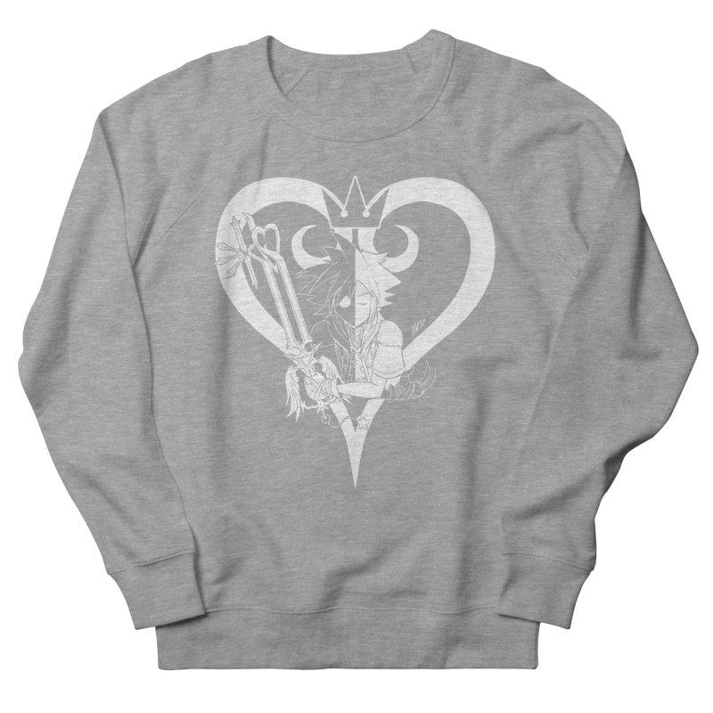 Heartless Men's French Terry Sweatshirt by Requiem's Thread Shop