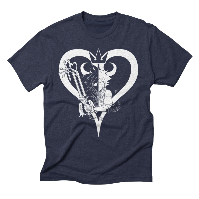 Heartless Men's Triblend T-Shirt by Requiem's Thread Shop