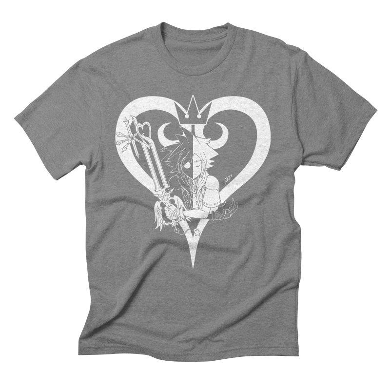 Heartless Men's Triblend T-Shirt by Requiem's Thread Shop