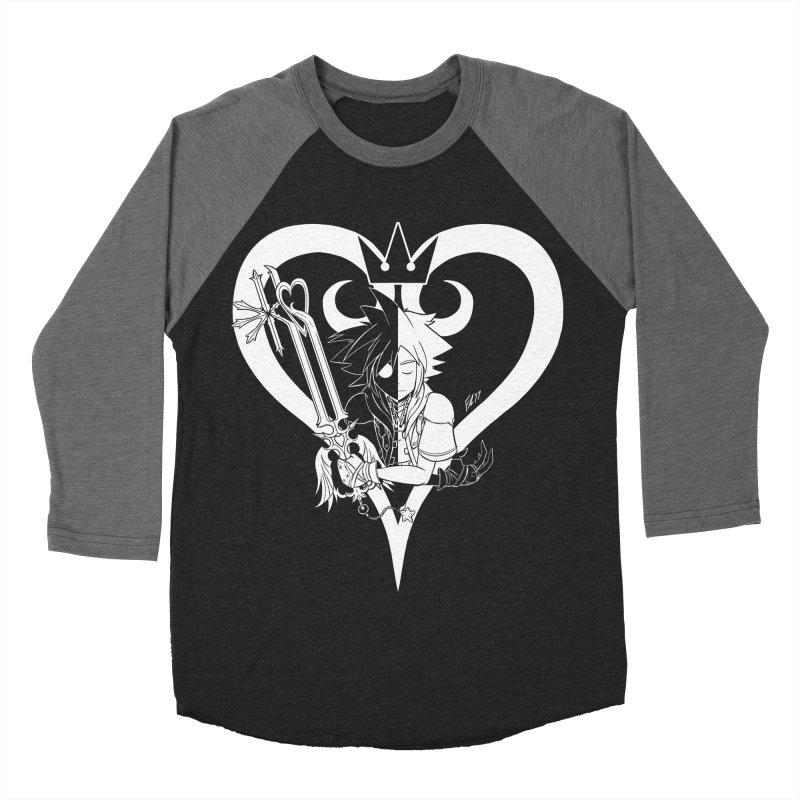 Heartless Men's Baseball Triblend Longsleeve T-Shirt by Requiem's Thread Shop