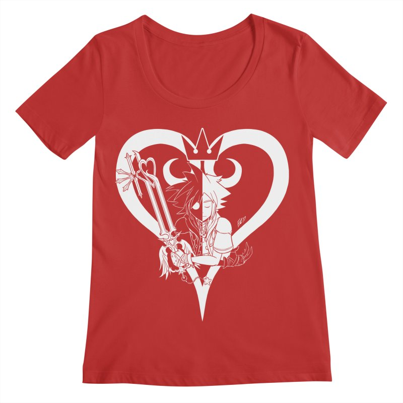 Heartless Women's Regular Scoop Neck by Requiem's Thread Shop