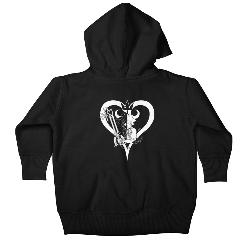 Heartless Kids Baby Zip-Up Hoody by Requiem's Thread Shop