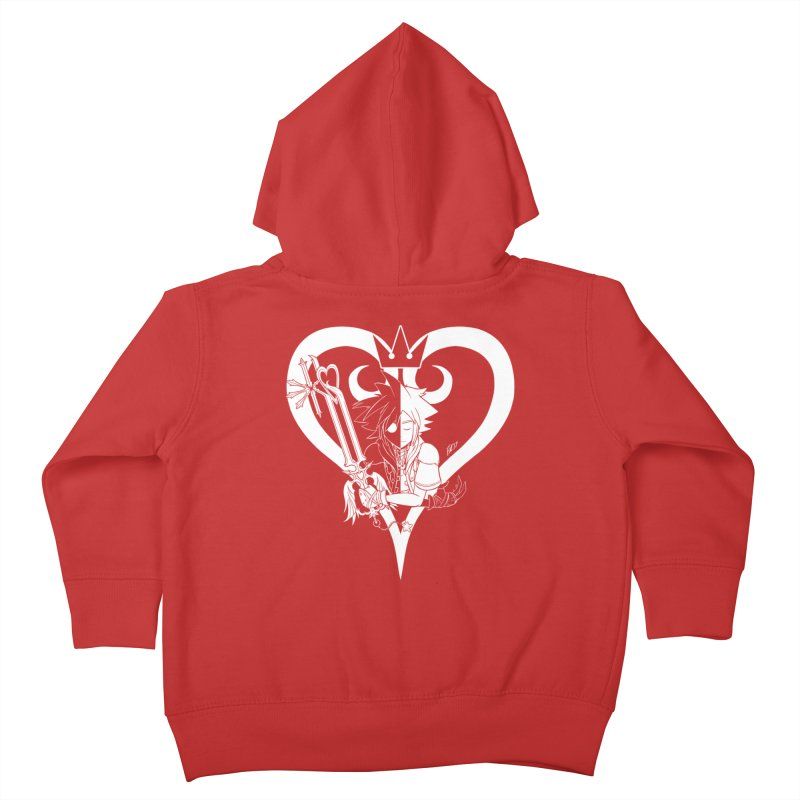 Heartless Kids Toddler Zip-Up Hoody by Requiem's Thread Shop