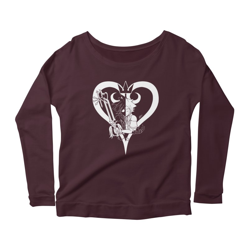 Heartless Women's Scoop Neck Longsleeve T-Shirt by Requiem's Thread Shop