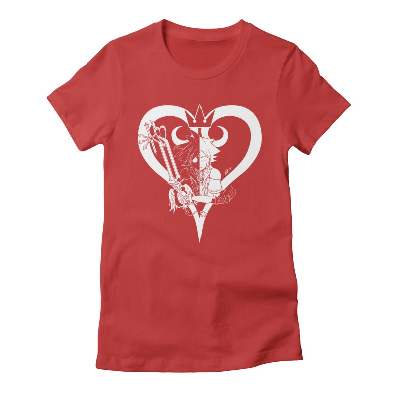 Heartless Women's Fitted T-Shirt by Requiem's Thread Shop